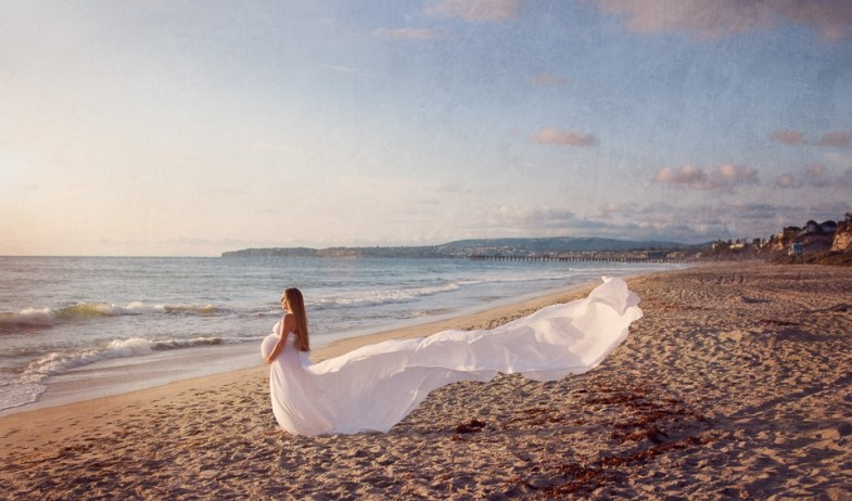 Beach pregnancy