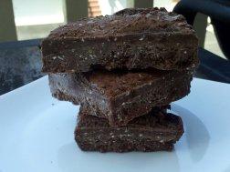 chocolate protein chia bars