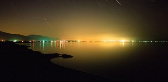 Salton Sea Night View