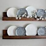 Simple Diy Ledge Shelf Tutorial Christina Maria Blog