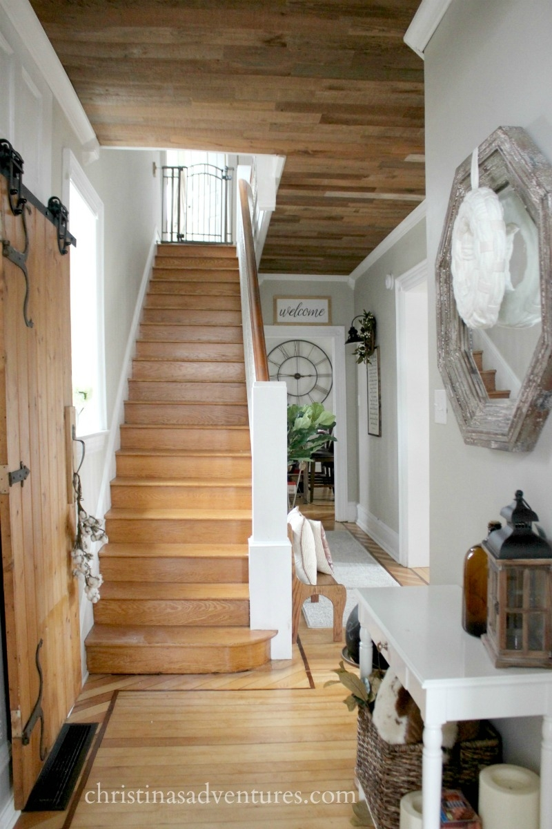 The Reality Of Wood Stairs Christina Maria Blog   Carpet On Wooden Stairs   Dark   Appreciation   Basement   Fitting   Contemporary