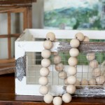 Diy Wood Bead Garland Christina Maria Blog