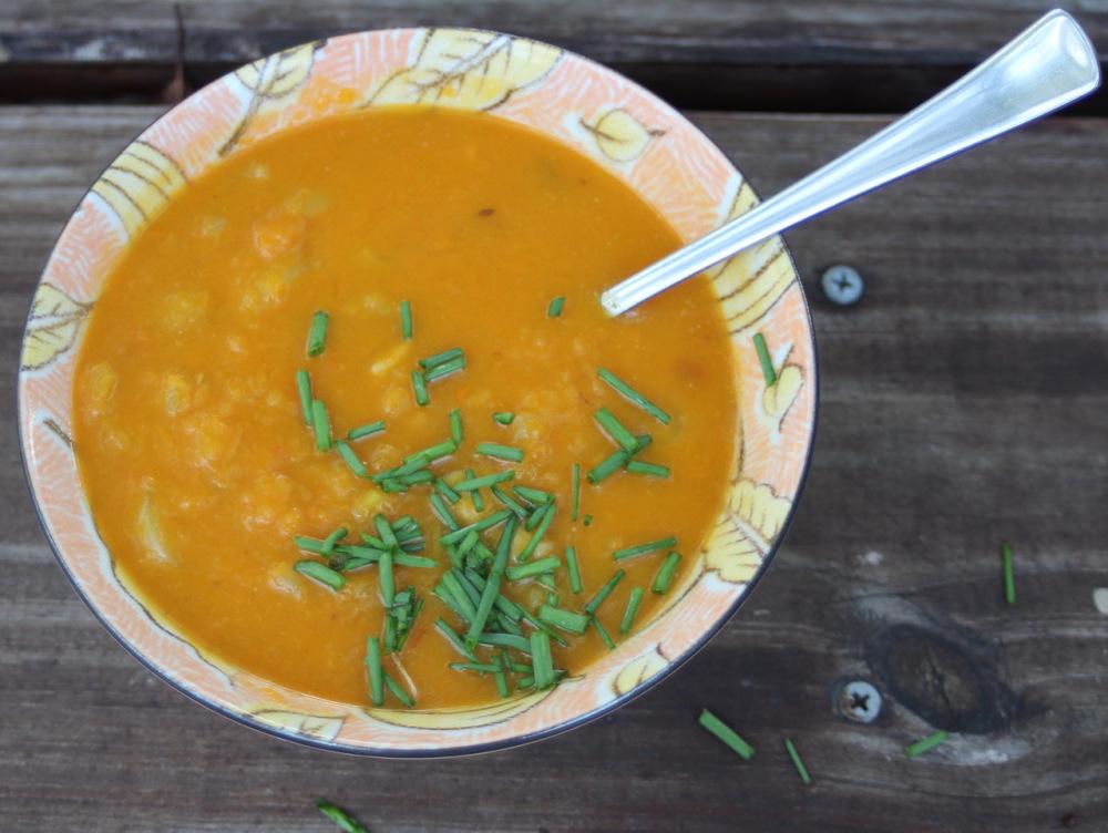 Thai butternut squash soup