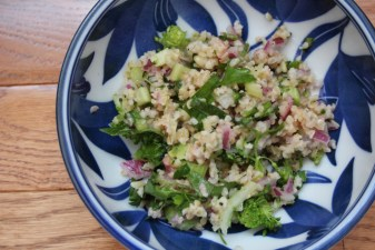 bulgur citrus salad