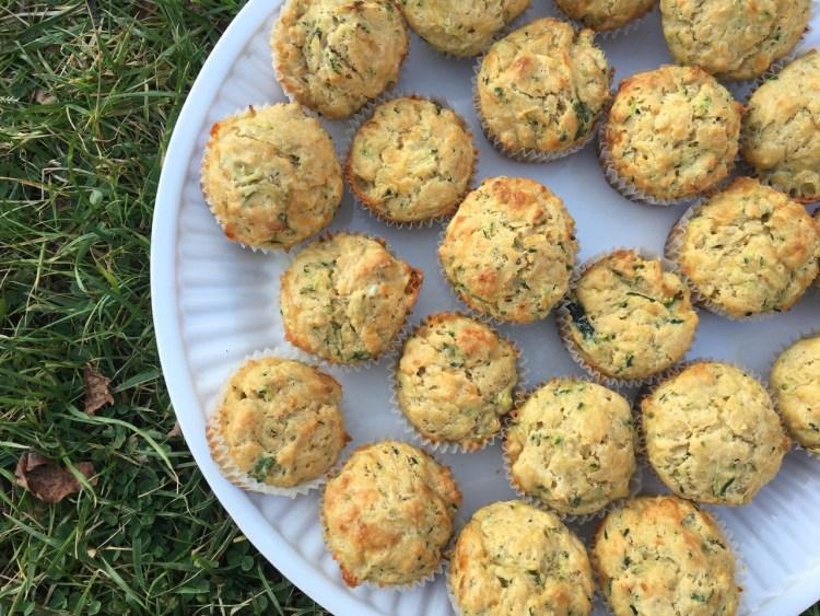 zucchini cheddar muffins
