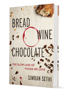 bread wine chocolate book cover