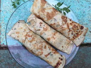Savory Summer Crepes