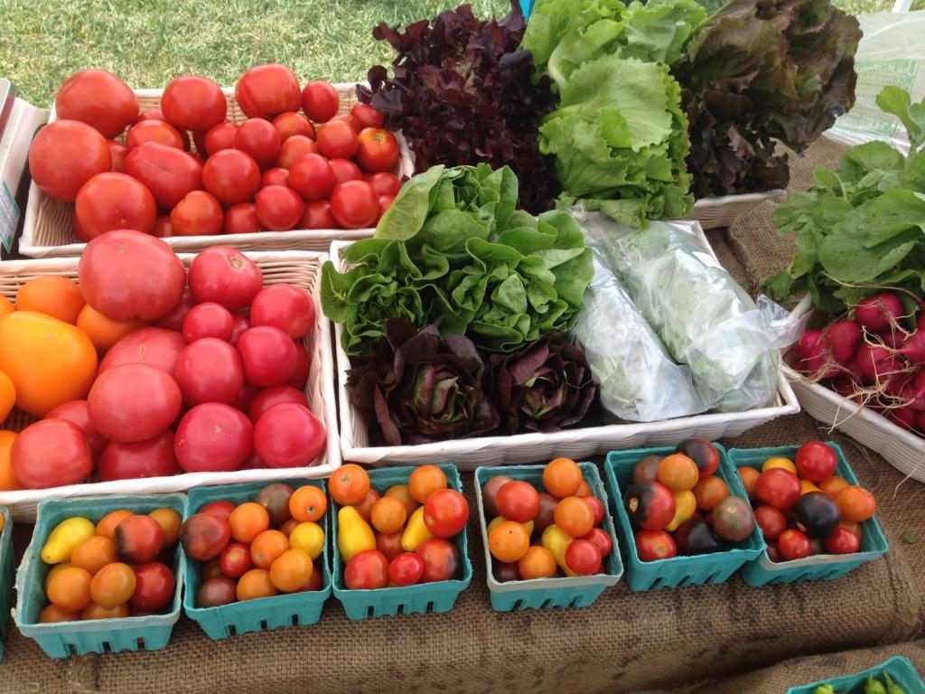 Thornfield Farm produce
