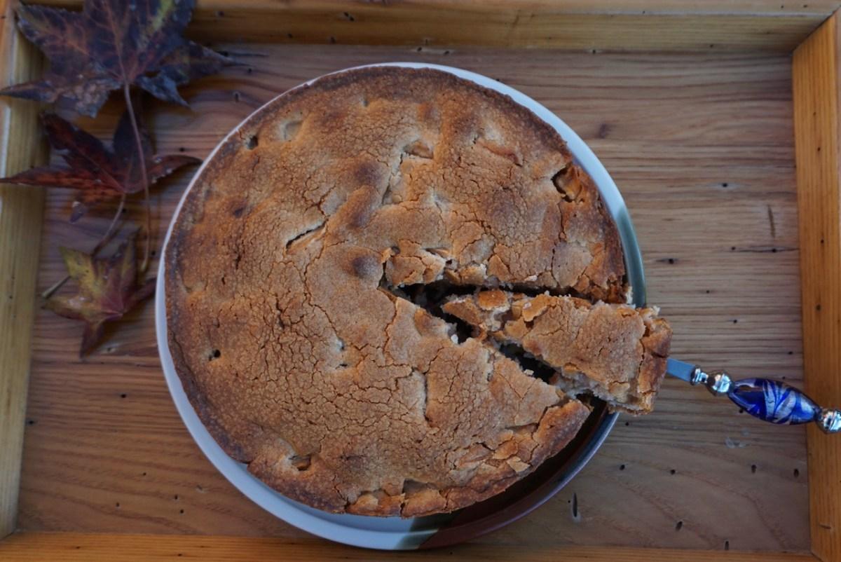Easier Than Pie Apple Cake
