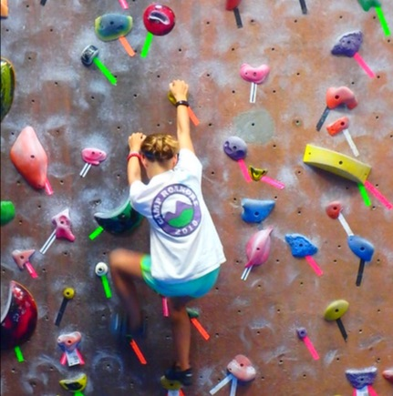 finding the climbing gym path