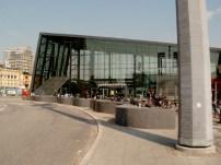 Det nya glashuset på Malmö central.