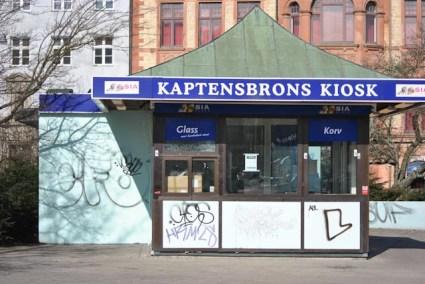 Glasskiosk vid Kaptensbron, Malmö