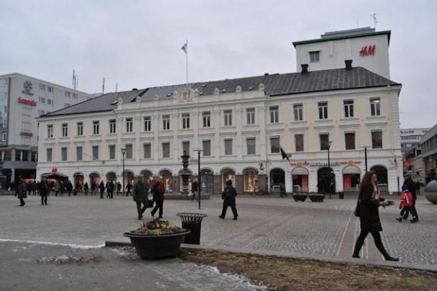 Malmö teater vid Gustav Adolfs torg