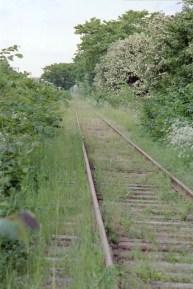 Sillabanan utmed Ribersborg / Herring railway along beach in Malmö