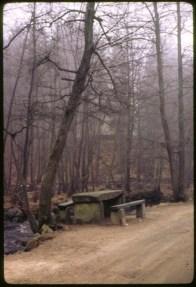 Restingplace at Hallandsåsen, Sweden circa 1970-1971