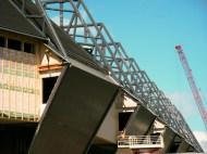 Building of Swedbank Arena, Malmö