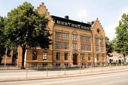Tekniska gymnasiet i Malmö, numera Pauli Gymnasium / Technical High School, now Pauli Gymnasium