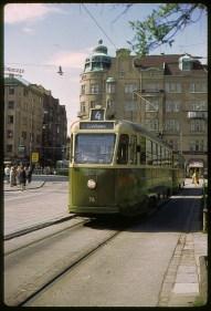 The last tram in Malmö in 1973.