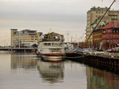 Gamla färjeläget. Old ferry to Copenhagen used to anchor here.