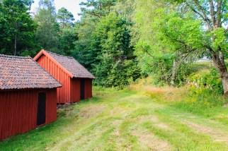 Villstad church stables.