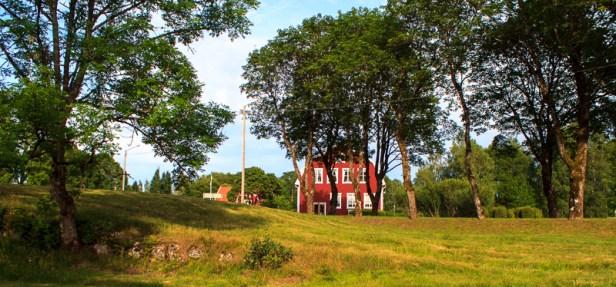 Villstad church village.