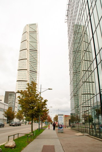 Turning Torso in Western Harbour.