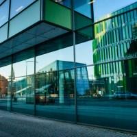 Reflection by Malmö Central