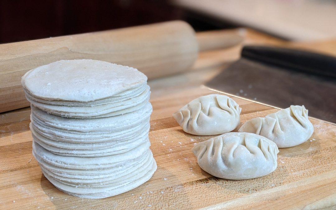 Pâtes pour dumplings (gyoza)