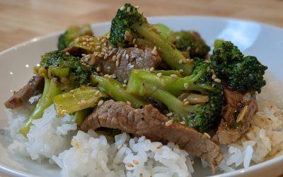 Bœuf brocoli