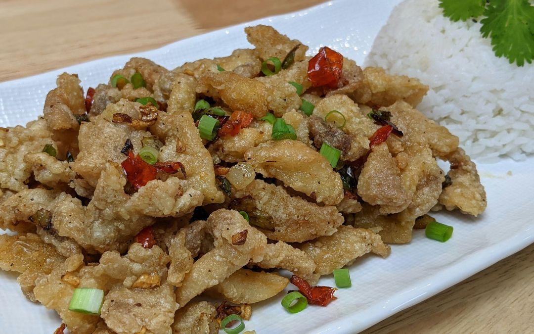 Poulet frit sel et poivre