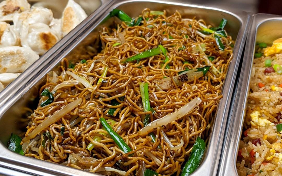 Chow Mein à la sauce soya et fèves germées
