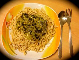 Mangoldspaghetti
