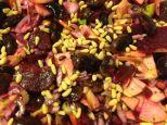 süß sauerer Käferbohnensalat