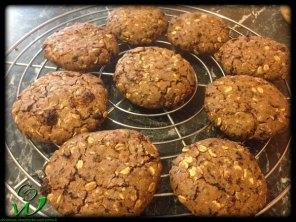 Schoko-Maulbeerencookie