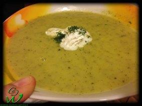 Gurken-Lauch-Suppe