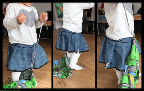 DIY KinderRock Tragebild in Aktion