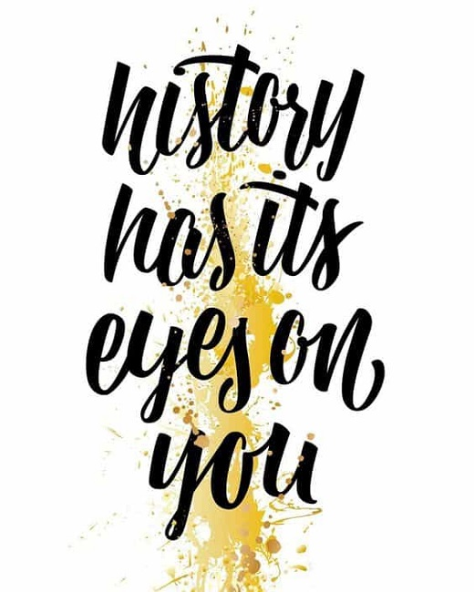 """""""History Has Its Eyes On You""""–Hamilton-Inspired Observations For the Journey Towards Holiness"""