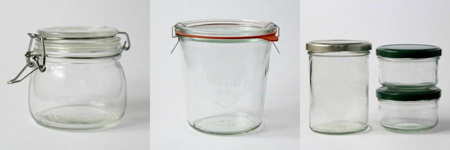 Snacks fürs Schwimmbad - Gläser