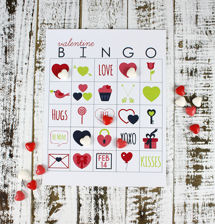 Printable Valentines Day Bingo Christina Williams