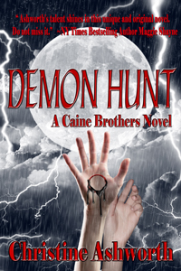 Cover for Demon Hunt by Christine Ashworth