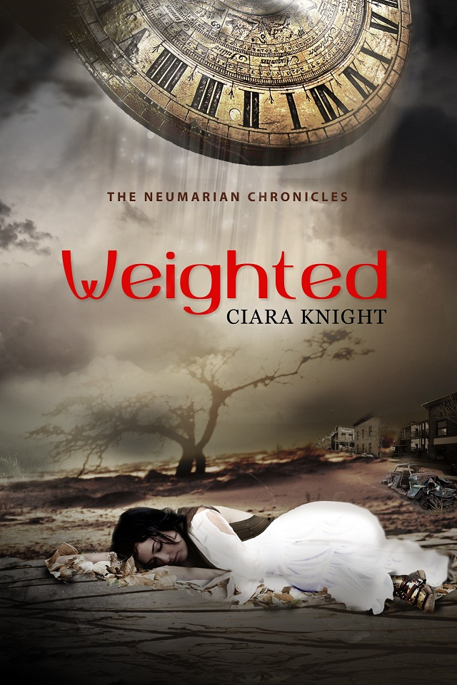 Cover for Weighted by Ciara Knight