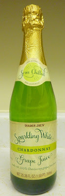 Trader Joe's Sparkling White Chardonnay Grape Juice
