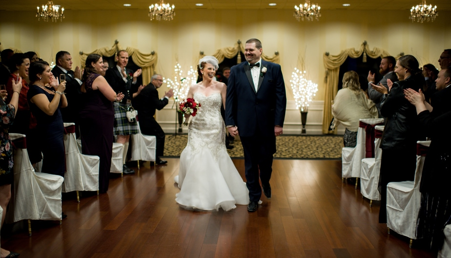 JAC 7532 - Amy and Brig Married:  Dutchess Manor