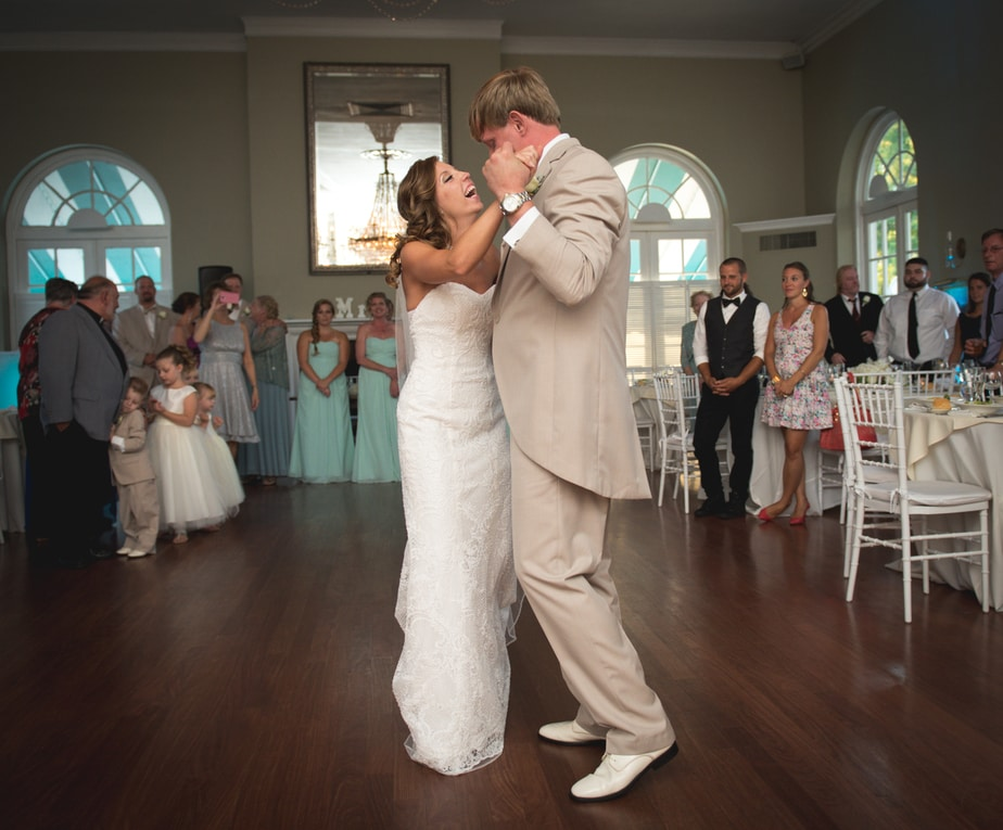 First Dance at a Highlands Country Club Wedding in Garrison, NY