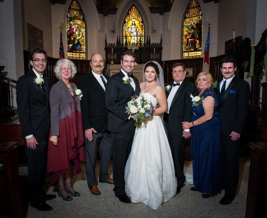 Hudson Valley Wedding, St. Philips Church, Garrison, NY