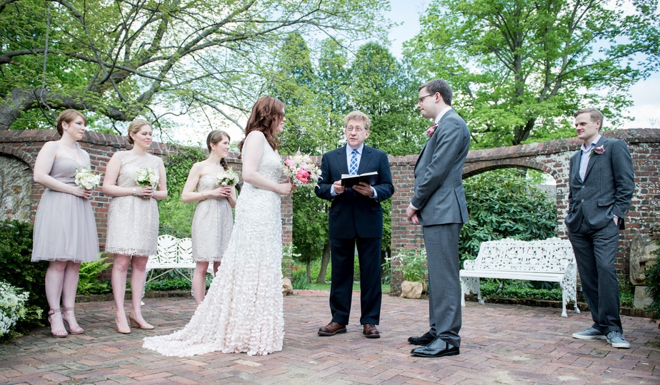 Keeler Tavern Museum Wedding Ceremony