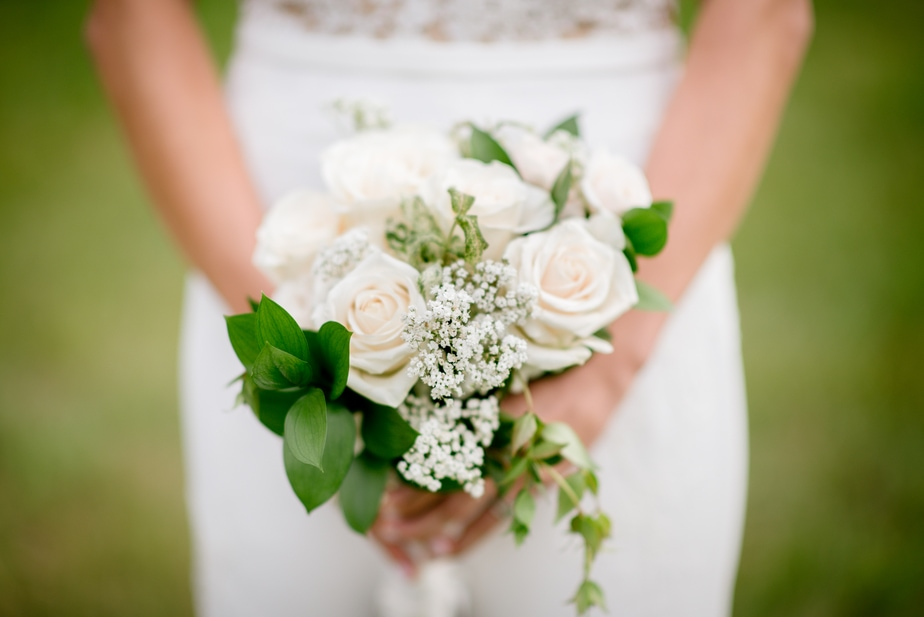 Connecticut Farm Wedding Bridal Bouquet