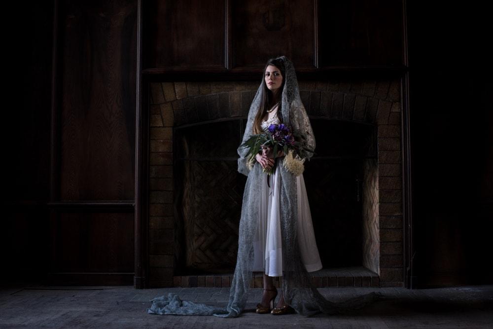 DSC 8758 - Dark and Moody Wedding Photography Shoot, Hudson Valley