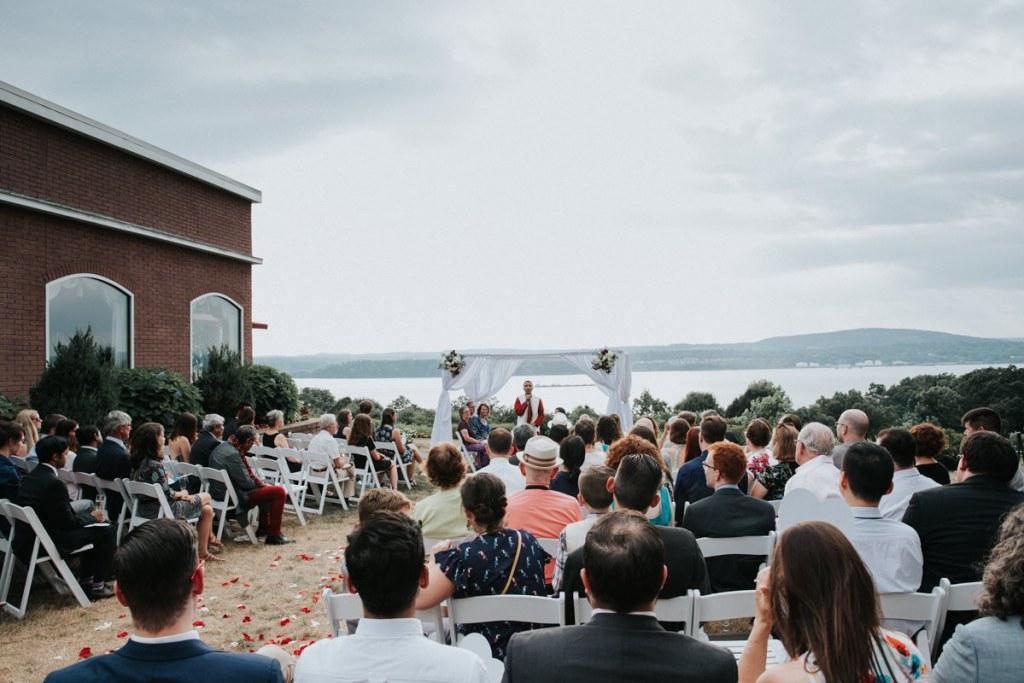 Dutchess Manor wedding ceremony overview