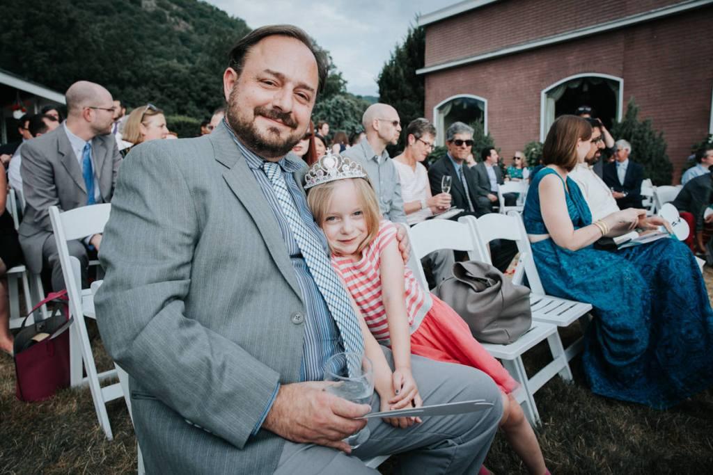 Dutchess Manor wedding reception guests